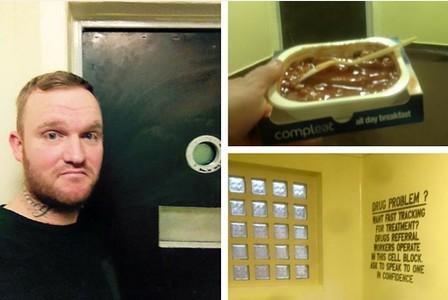 Christian Willoughby recensisce il carcere stile Tripadvisor, notizia virale
